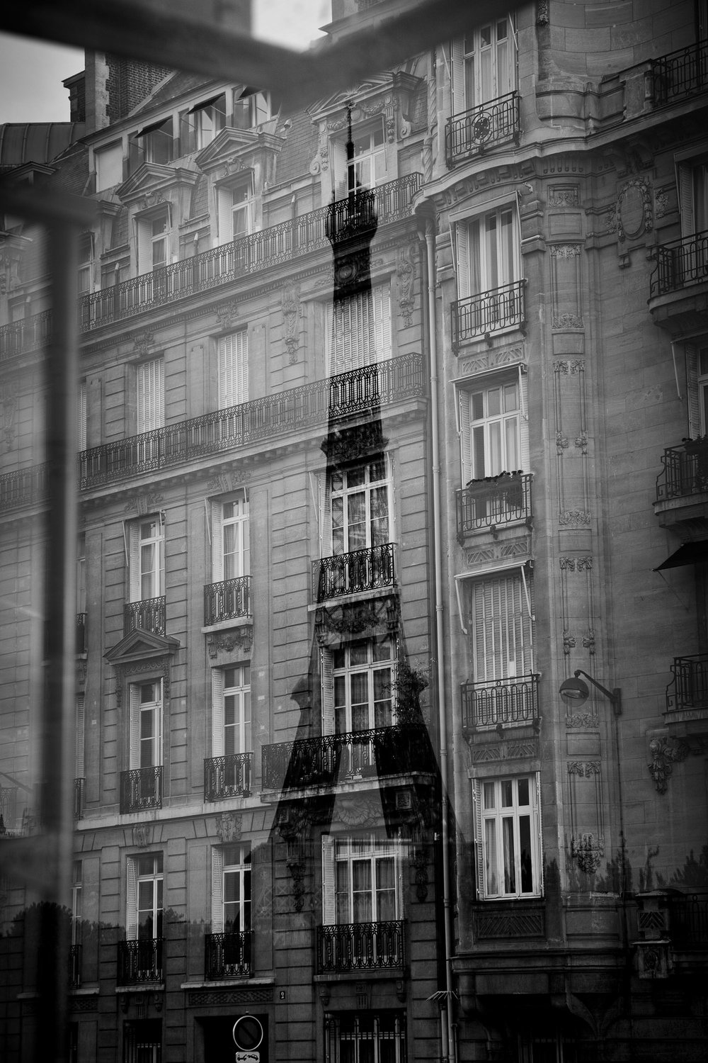 Eiffel Reflection, Paris