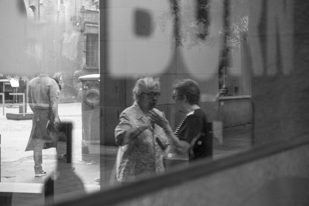 Street Scene, Madrid