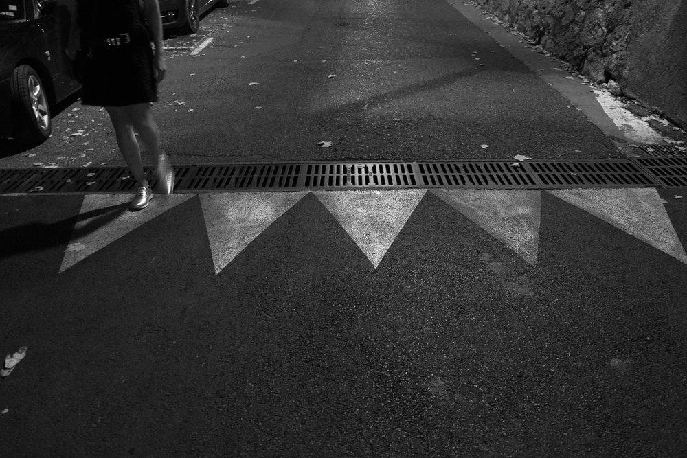 Night Walk , Moustiers-Sainte-Marie