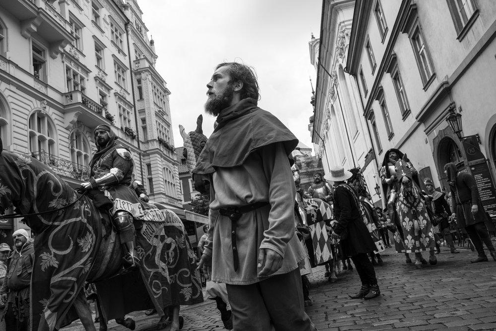 Procession , Prague