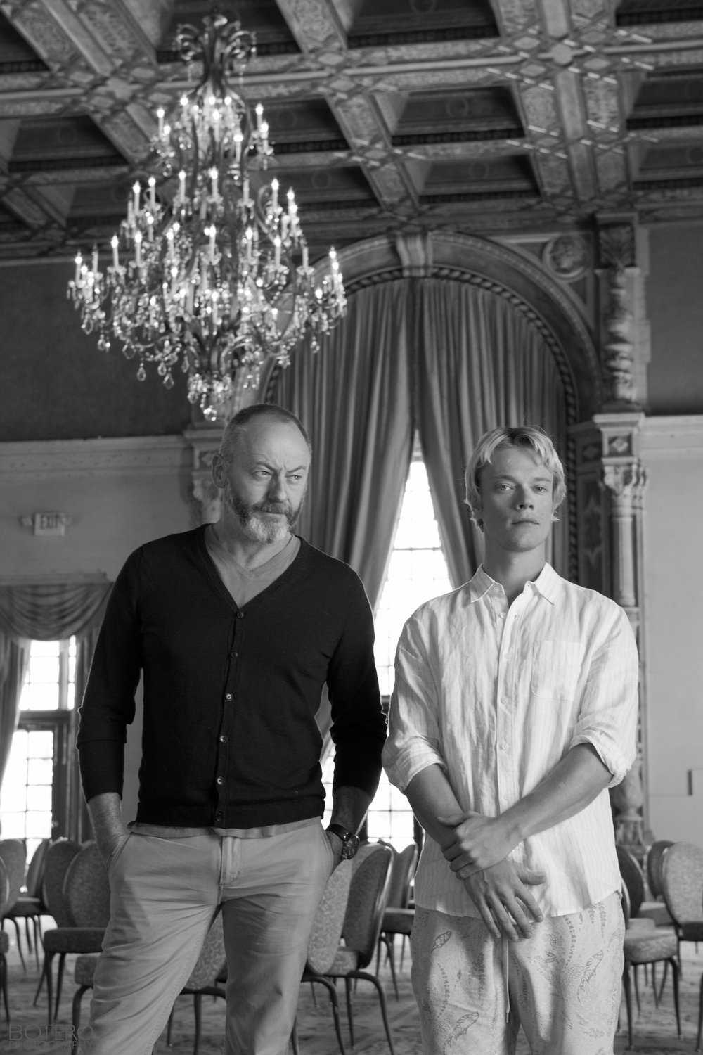 "Liam Cunningham and Alfie Allen ""Game of Thrones"""