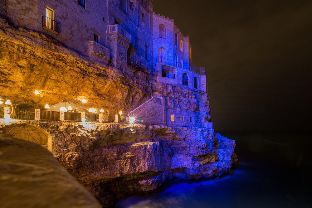 Grotta Palazzese   Polignano A Mare, Italy