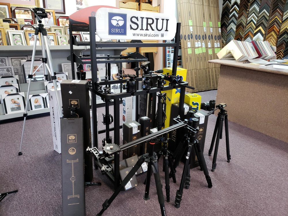 Sirui Tripods and Heads