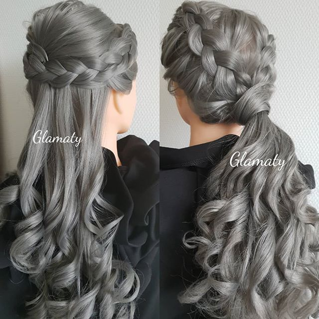 Stylish Dutch Braid Hairstyles.  Photo Shoots • Weddings • Performances • Parties Contact hello@glamaty.com  #amsterdam #amsterdamhair #dutchbraids #dutchbraid #netherlands #holland #glamaty #rotterdam #amsterdambride #amsterdamwedding #dutchwedding #dutchhair #amsterdamexpat #amsterdambridal #amsterdamhairstylist