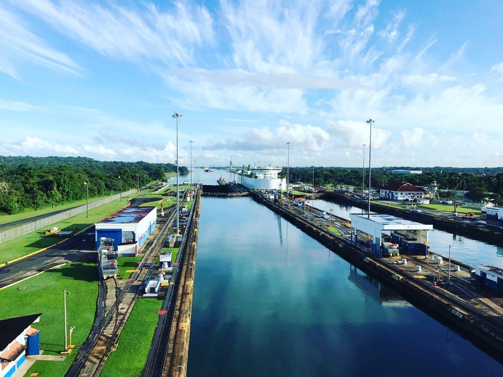 Panama Canal - Your Freund Emily