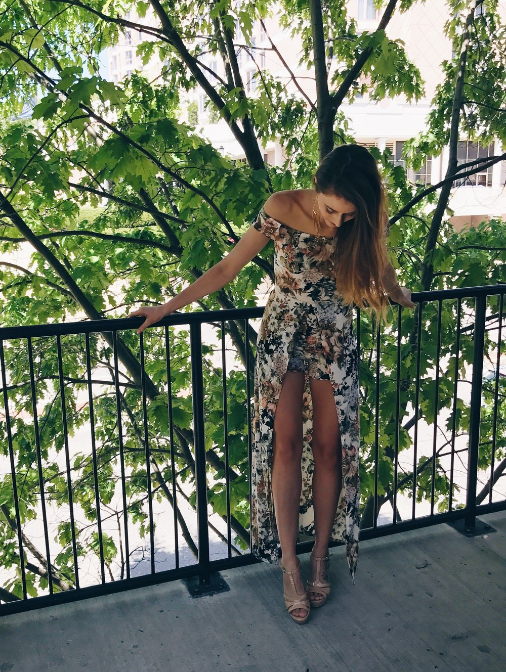 Fashion- Your Freund Emily, floral romper