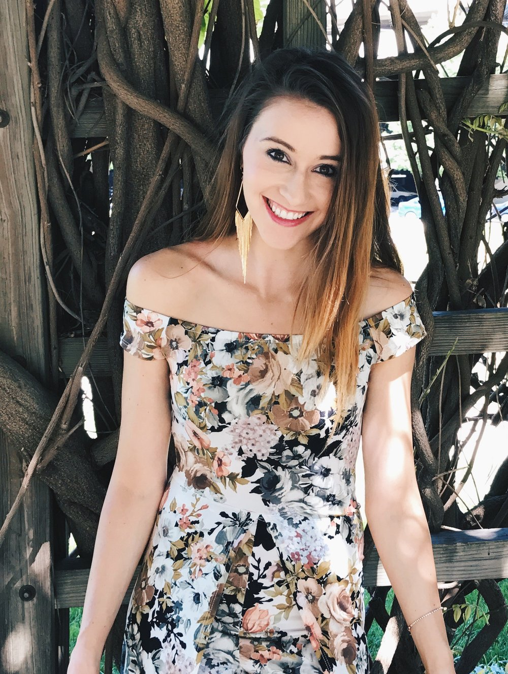 Your Freund Emily - Fashion, floral romper