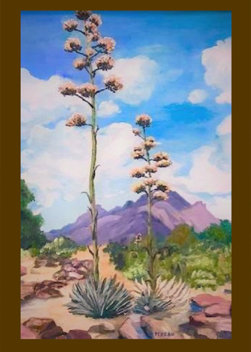 The Agave painting
