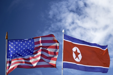 north korean and american flag.png