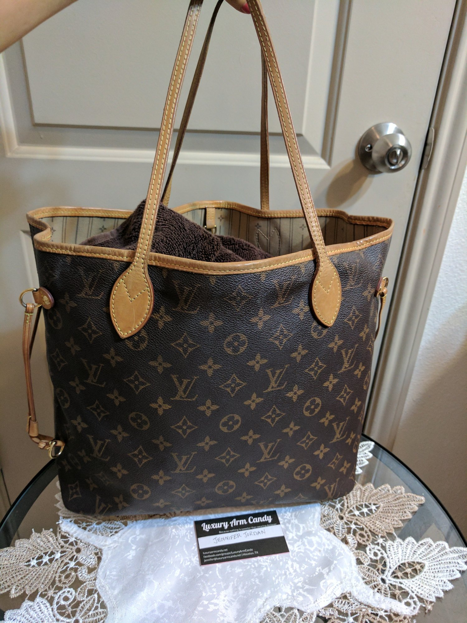 neverfull mm luxury arm candy