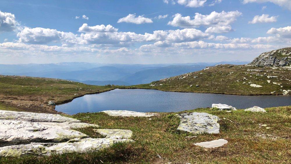 Utsikten fra Sigridsbu