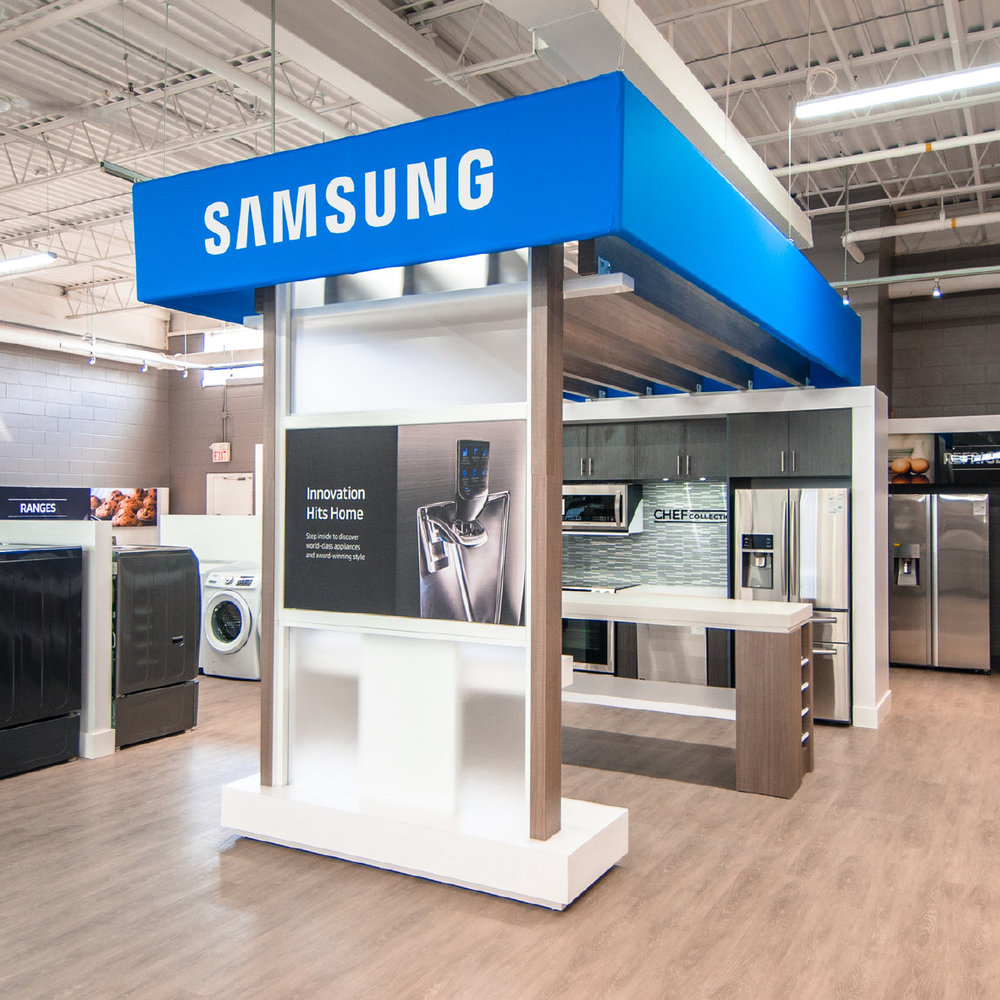 SAMSUNG RETAIL SHOWROOMS
