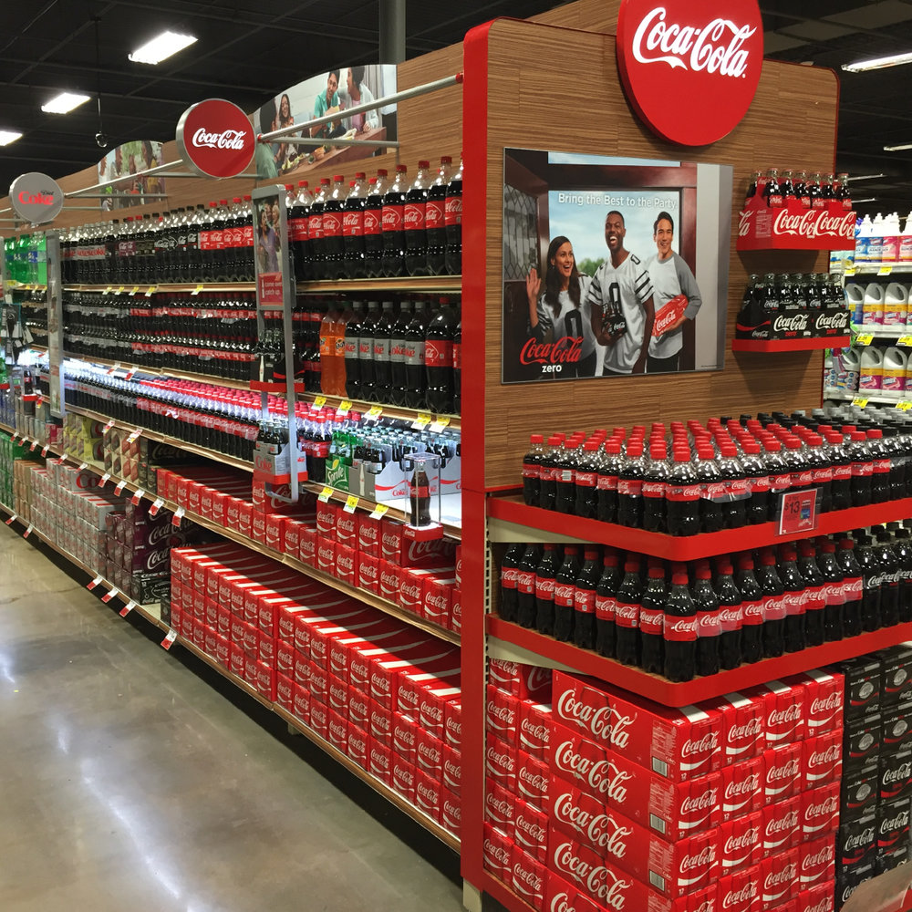 COCA-COLA BEVERAGE AISLE REINVENTION