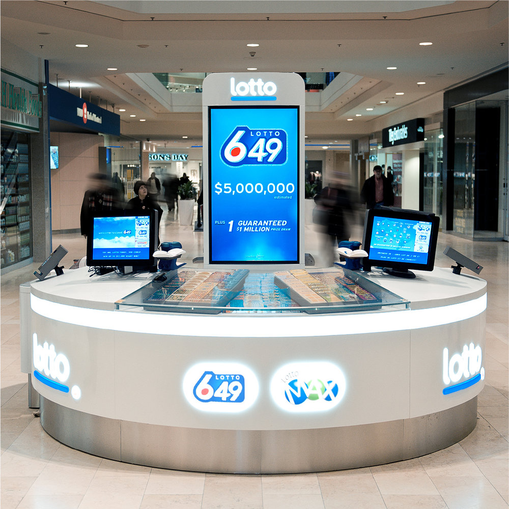 OLG LOTTERY KIOSKS