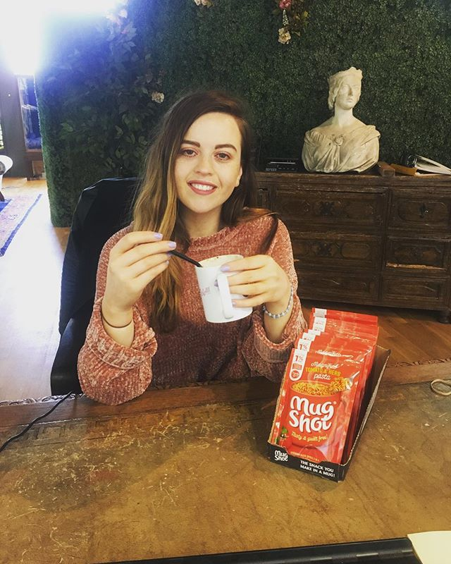 Thankyou to @theworkperk and @mugshotuk for our free samples #workperk #mugshot #instafood