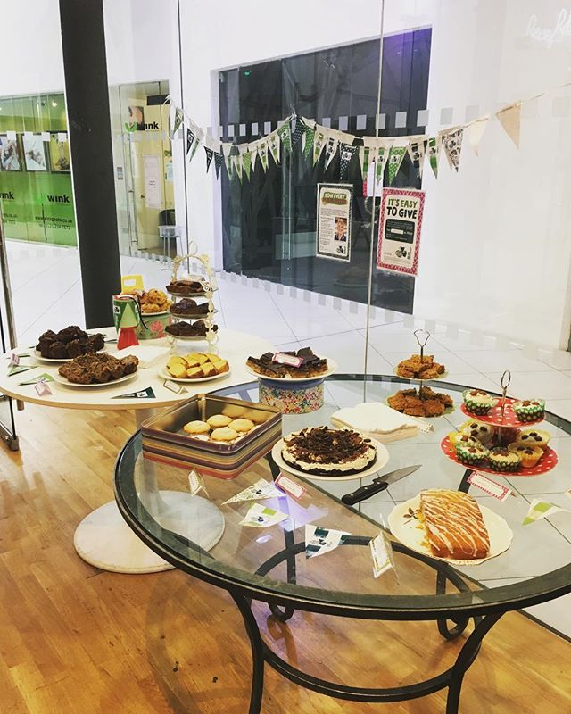 It's Macmillan coffee morning! Come down for a cake and a giggle #macmillancoffee #2017 #cake