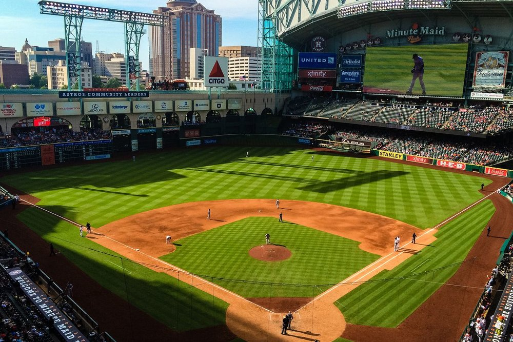 LOCATED AT: 501 Crawford St tHE OFFICIAL BALL PARK OF THE HOUSTON, TEXAS ASTROS AND ONLY 1 MILE FROM hq.