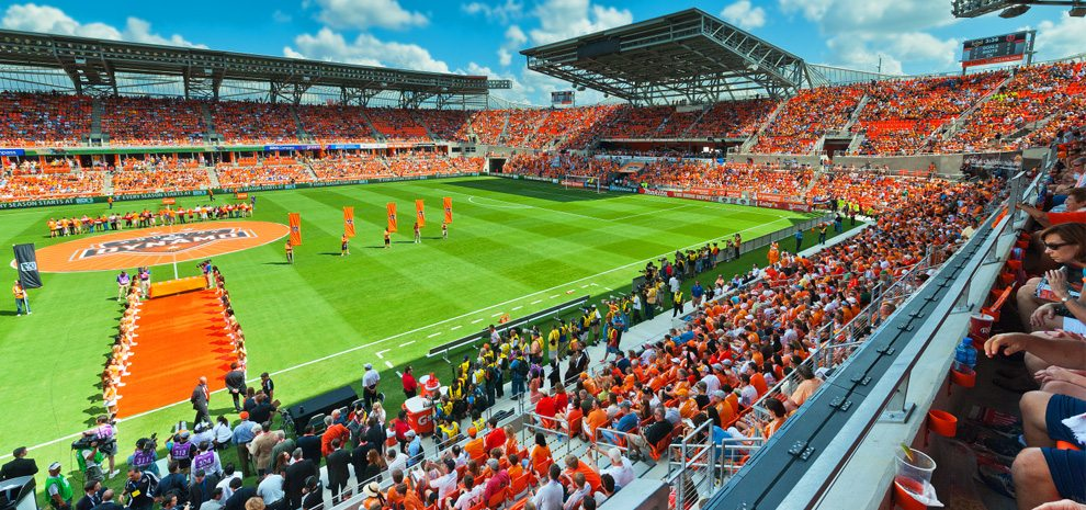 LOCATED AT: 2200 Texas Ave BBVA Compass Stadium is an American soccer-specific stadium that is home to the Houston DynamoS.