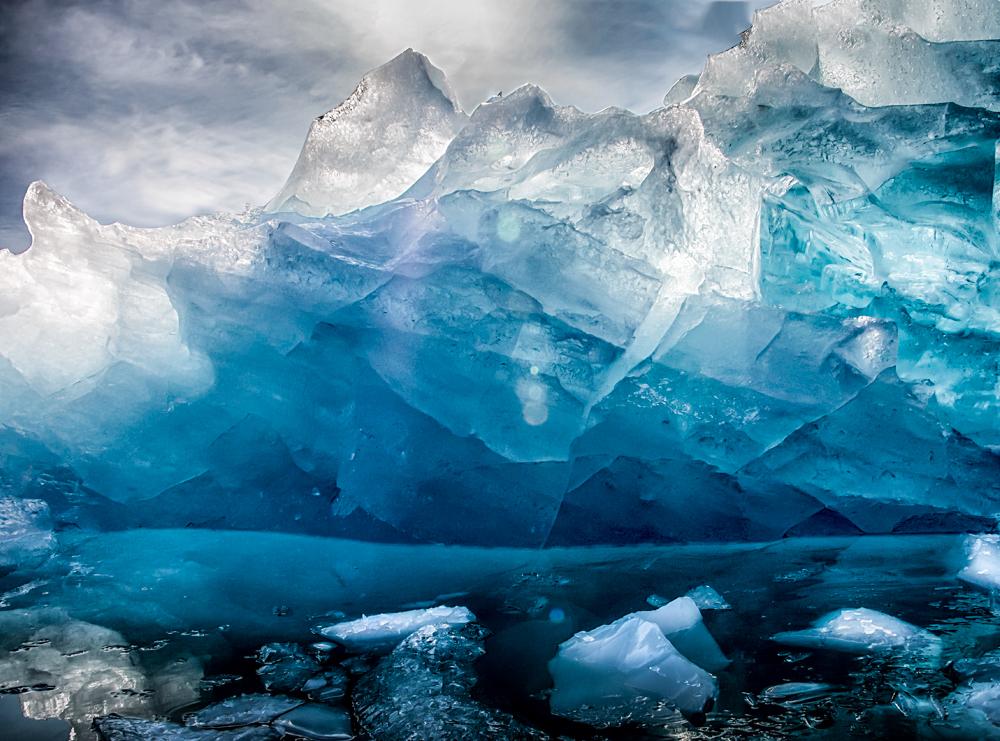 Crystal Blue Iceberg