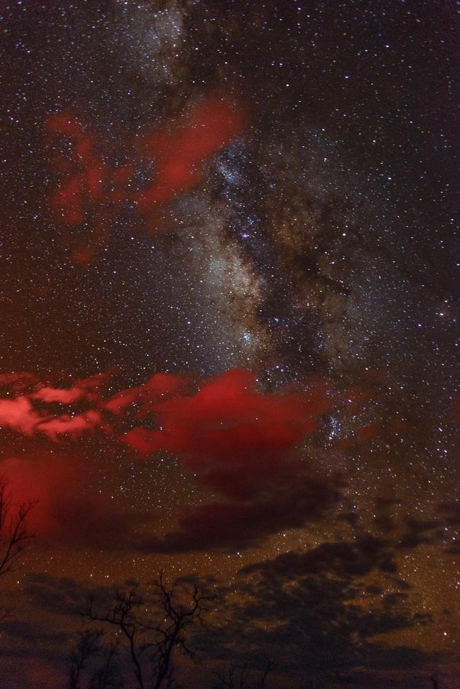 Cosmic Lava Glow