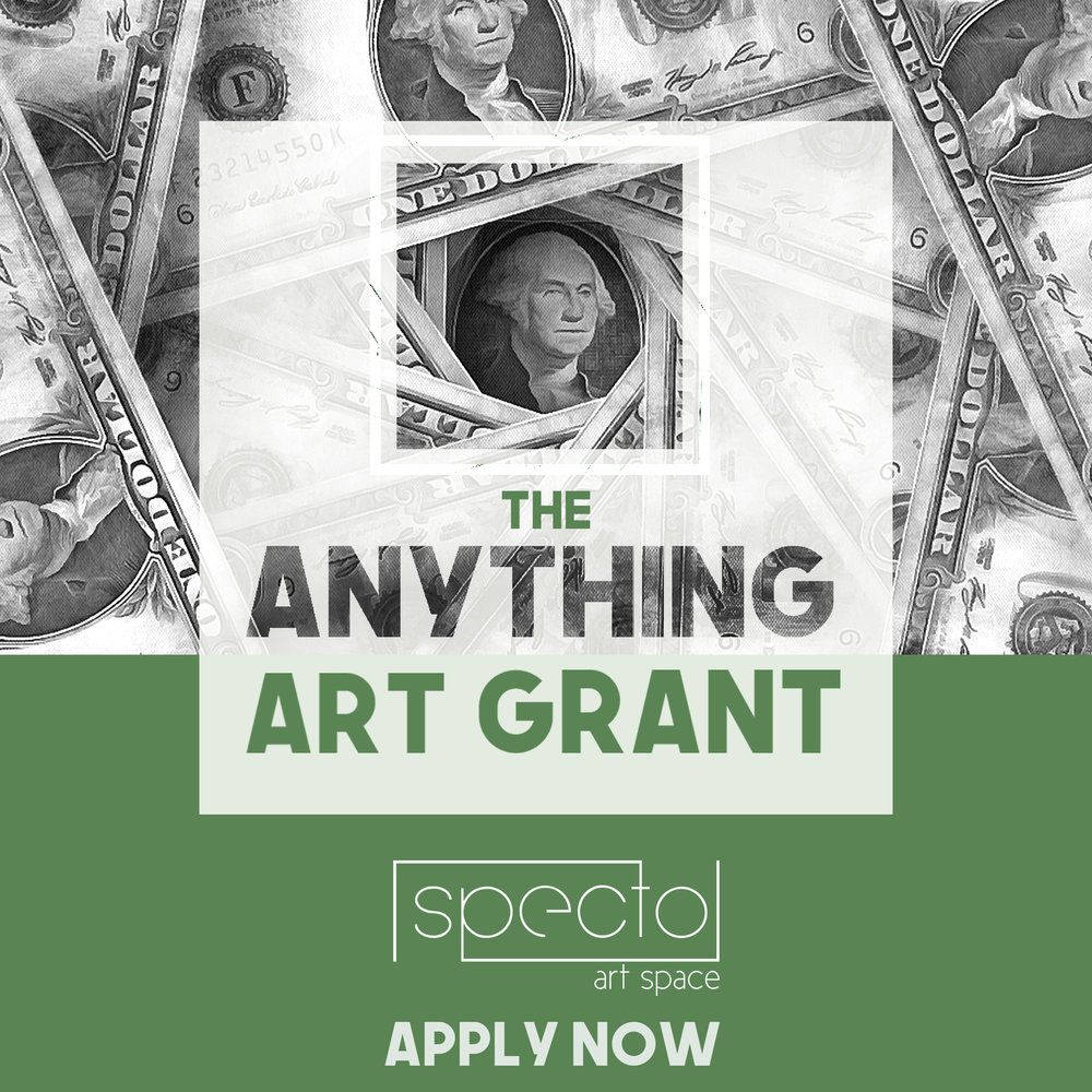 ANYTHING ART GRANT    APPLICATIONS OPEN, APPLY NOW!