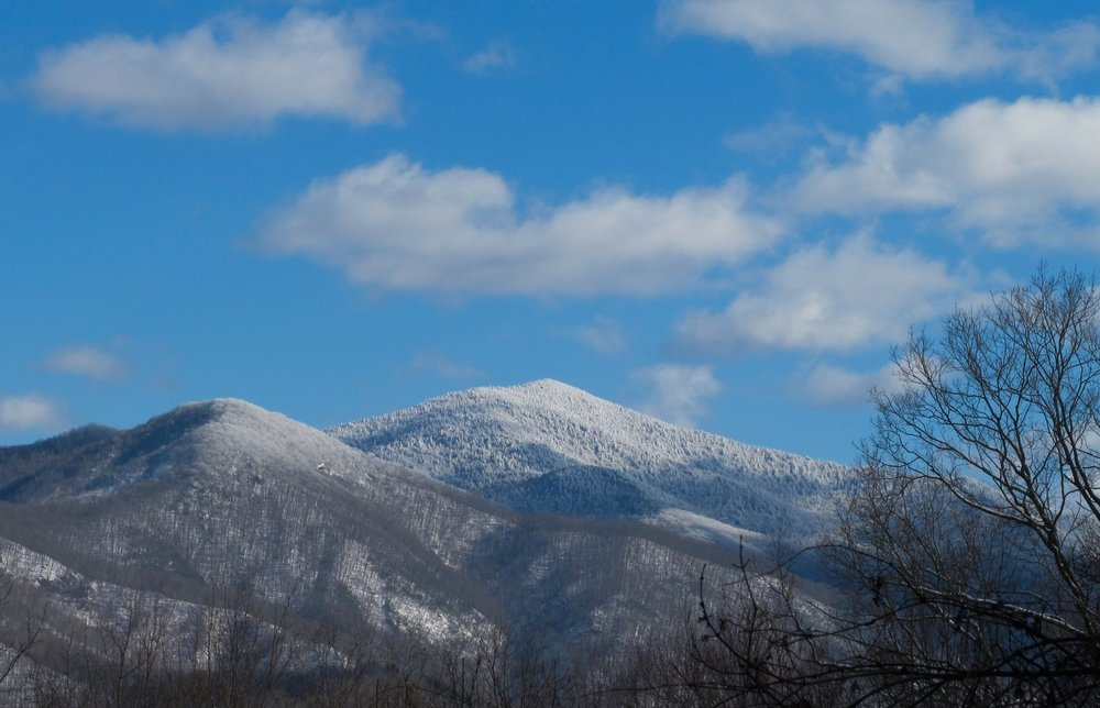 Celo Knob - The northern peak of the Black Mountain Crest