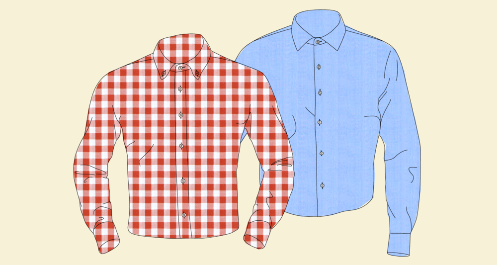 French vs. Standard Placket