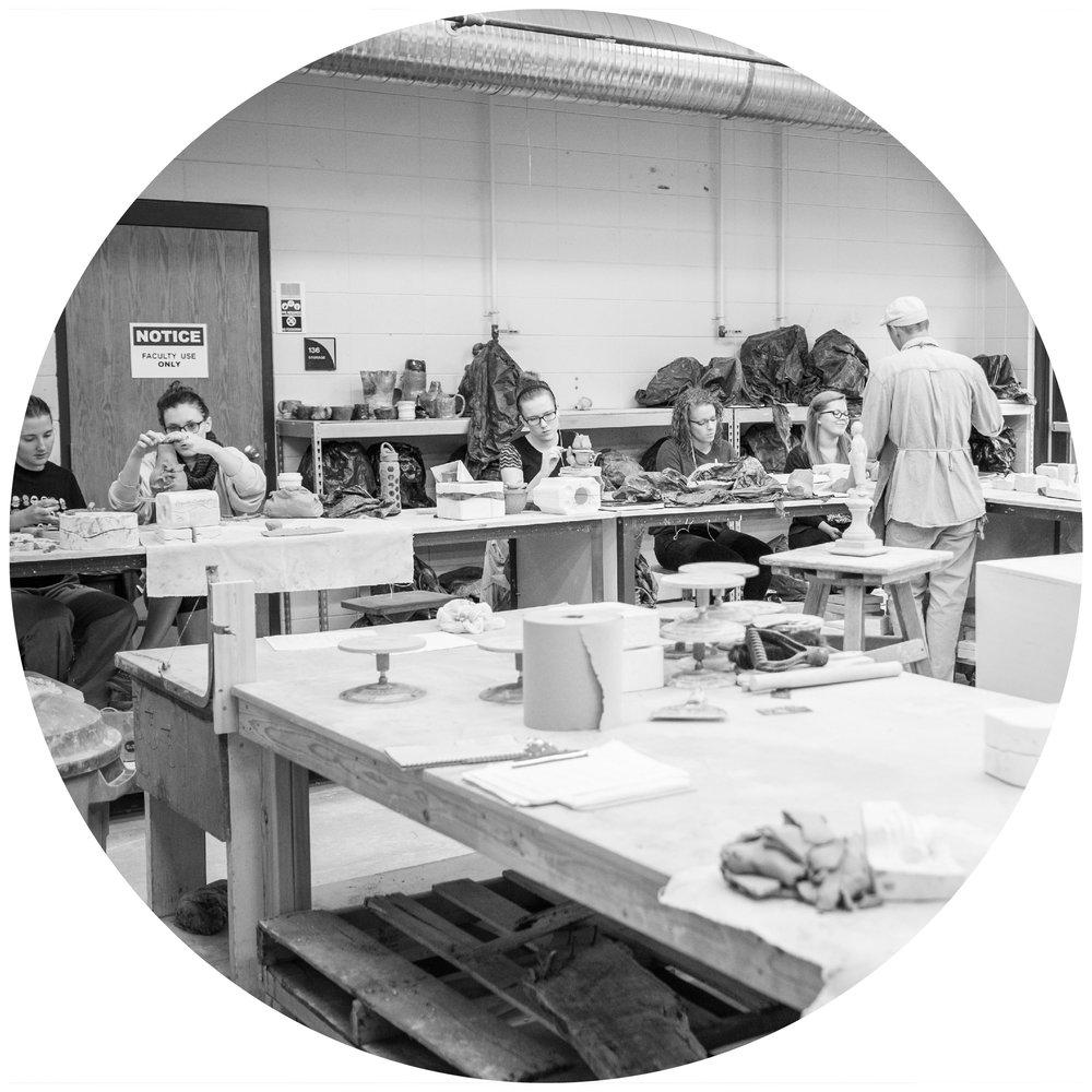 Studio Arts: Ceramics