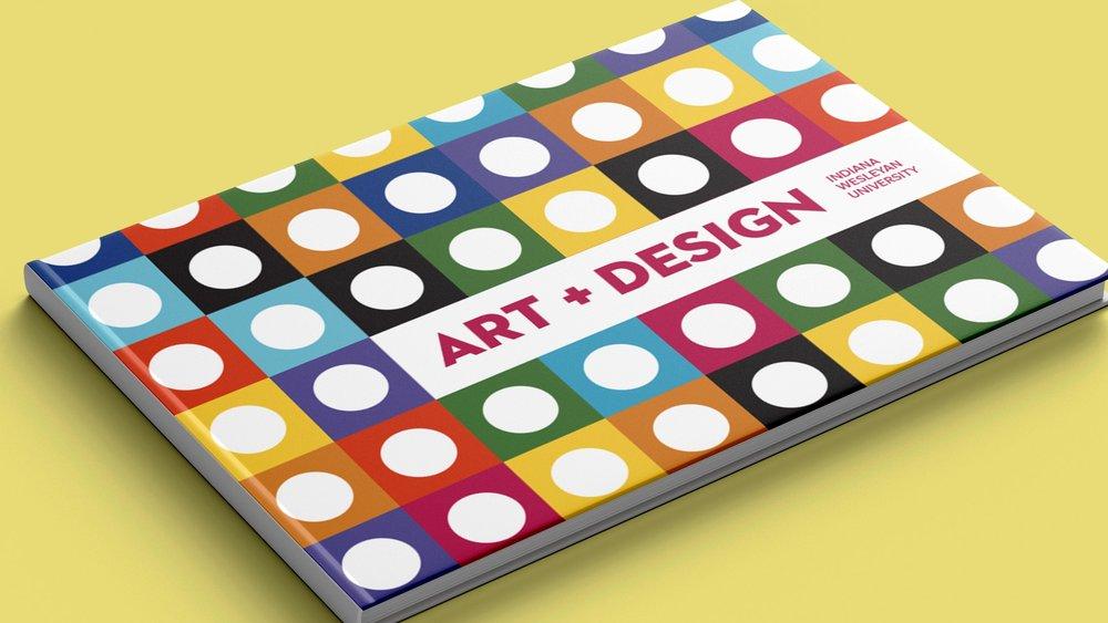 2018 IWU Art + Design look book.