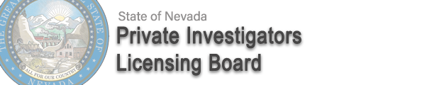 For more questions in regarding your PILB Card application, Click on the Private Investigator's Licensing Board Icon.