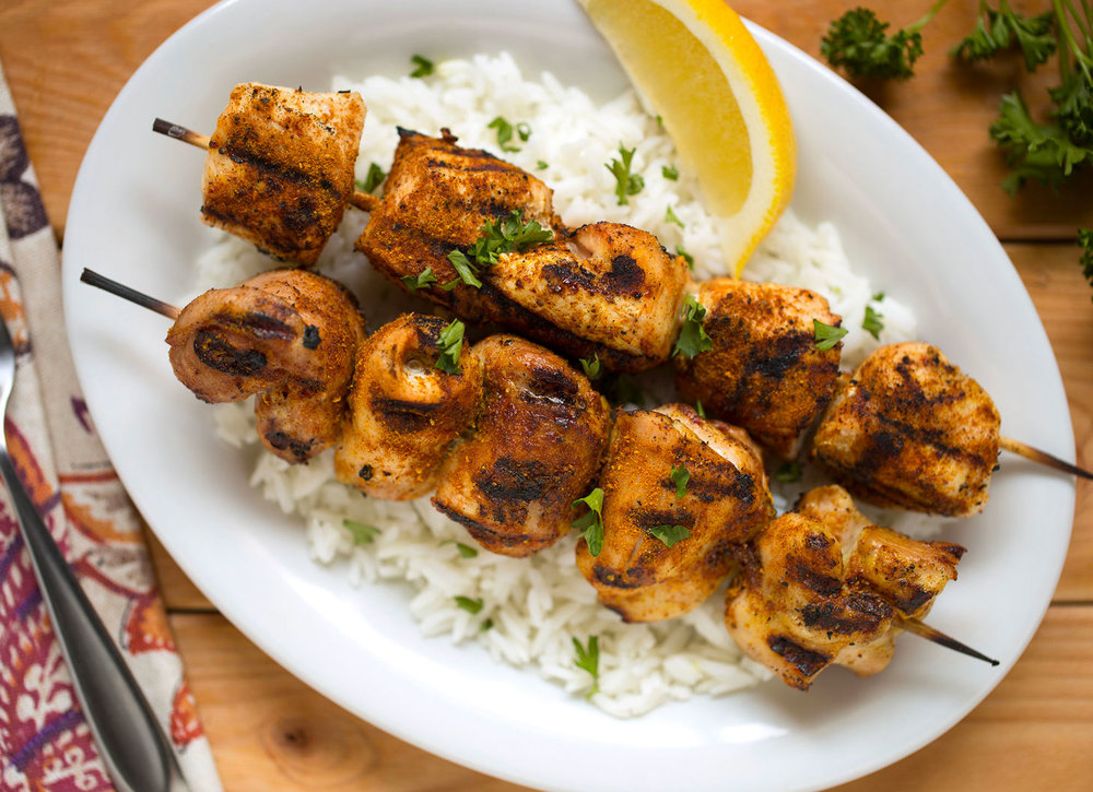 Advieh Chicken Kebabs