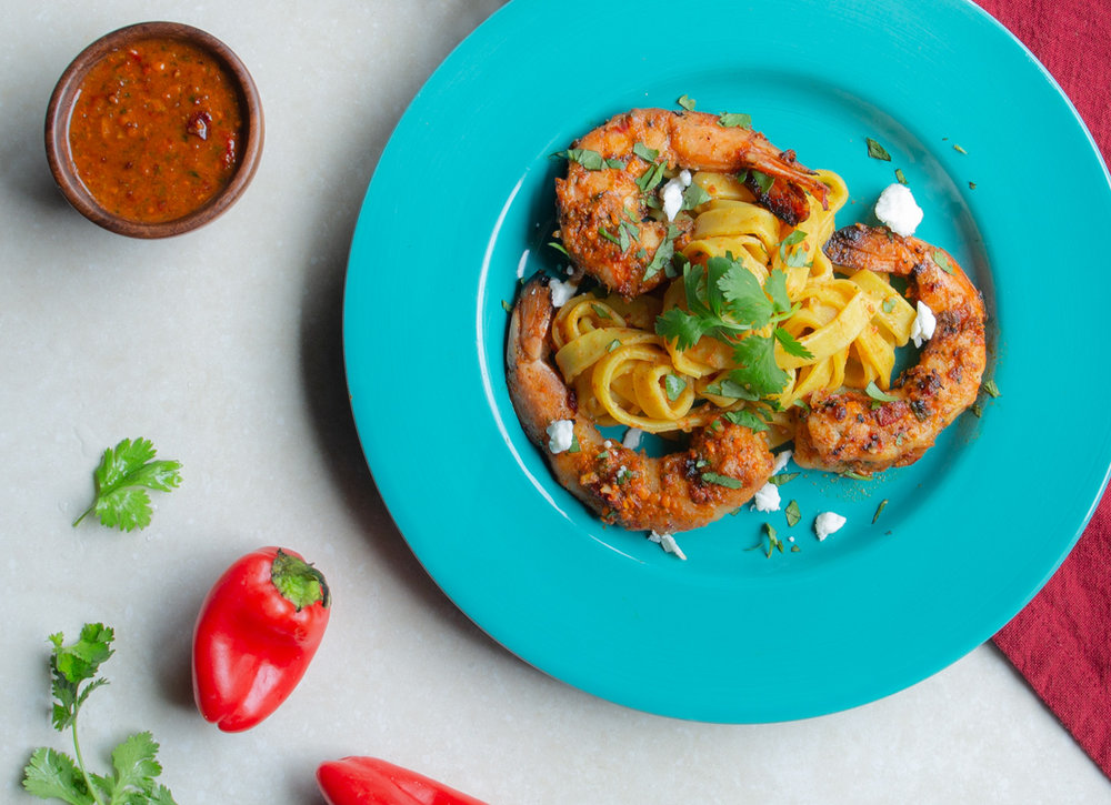 Quick Romesco Pasta Sauce