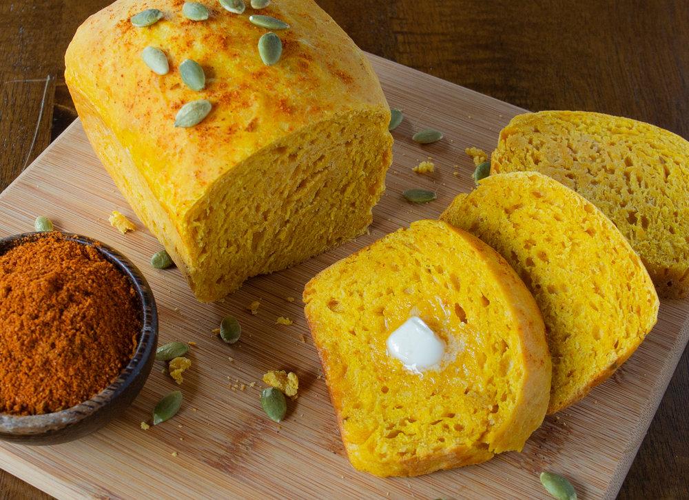 Pumpkin Bread with Pilpelchuma