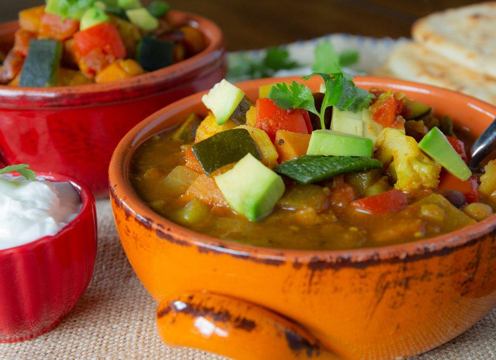 Vegetarian Curry Chili