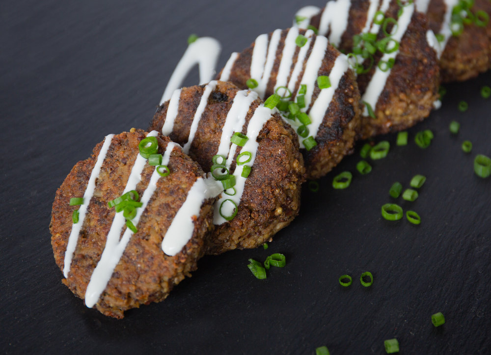 Organic Royal Quinoa Medley Pan-Fried Cakes
