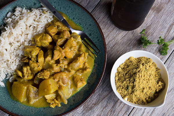 Jamaican Coconut Curry with Chicken