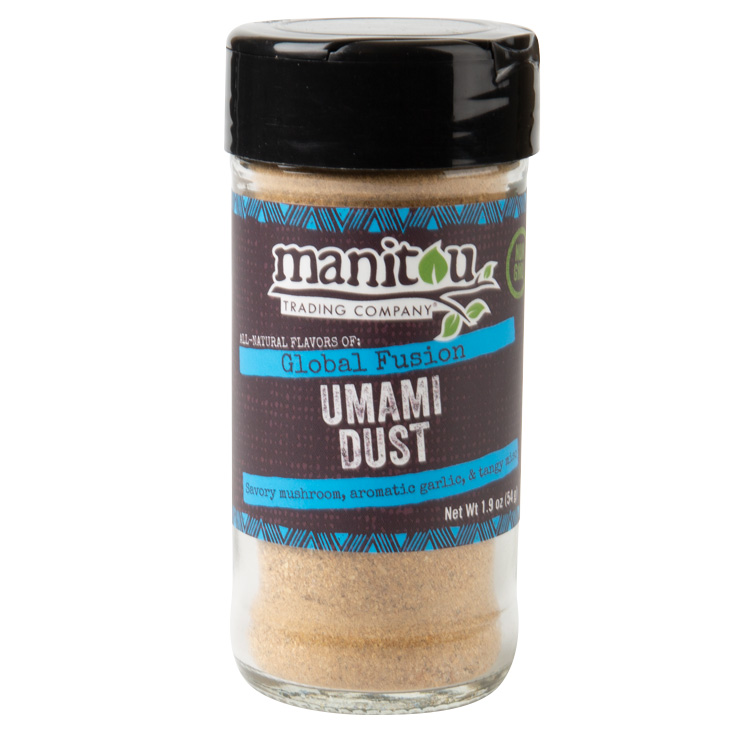 Umami Seasoned Mushroom-Quinoa Burger — Manitou Trading Company
