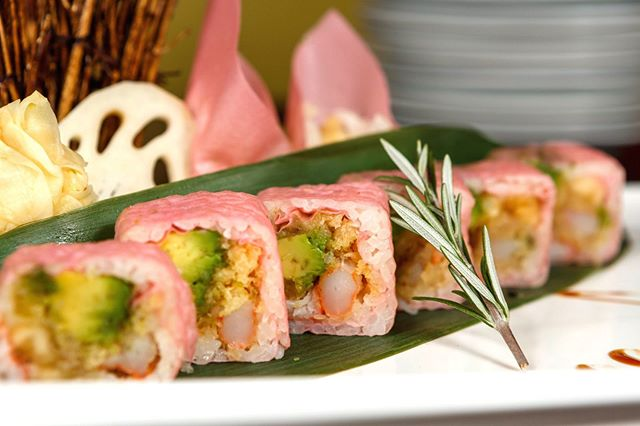 Don't like seaweed paper? Try our soy paper wrapped sushi today! It's the perfect substitute!
