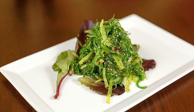 Our seaweed salad has that perfect zing you're looking for!