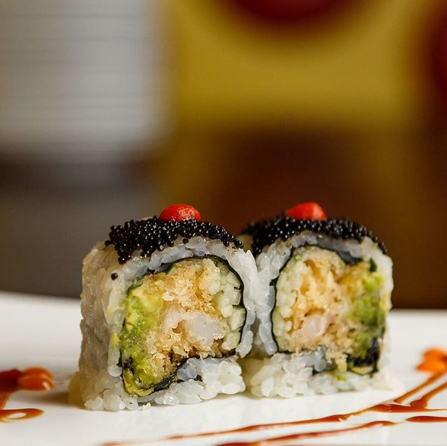 Sushi is the perfect lunchtime option!
