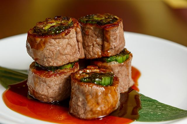 You can't go wrong with our Beef Negimaki!!