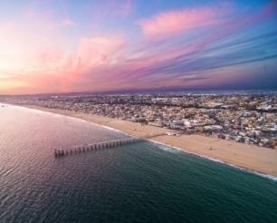 Hermosa Aerial Photo