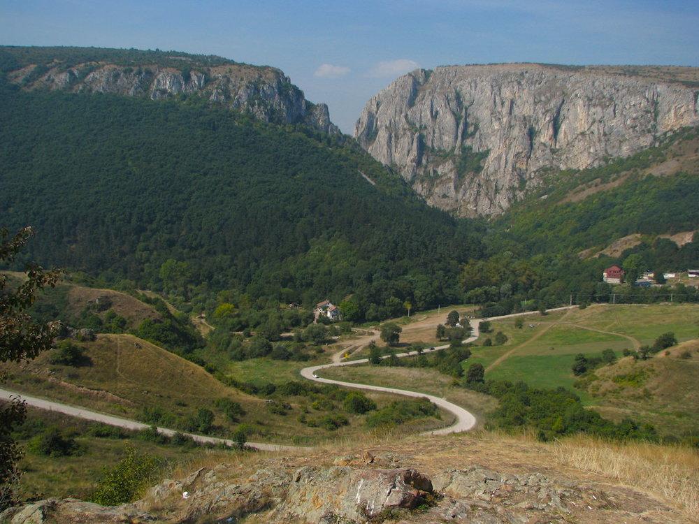 Turda Gorge (25' from Cluj)