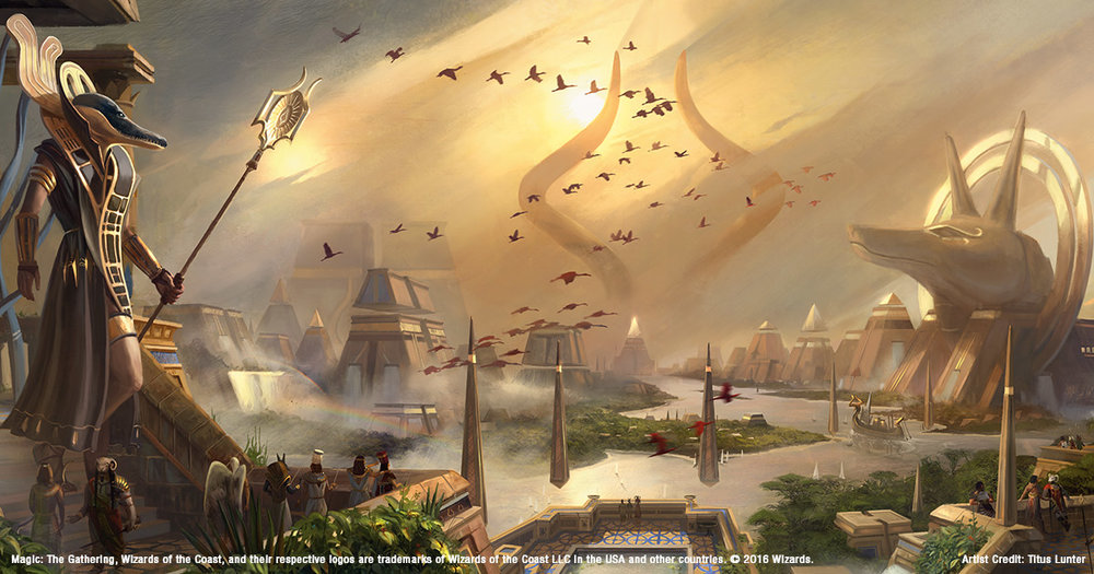 Magic the Gathering Amonkhet artwork