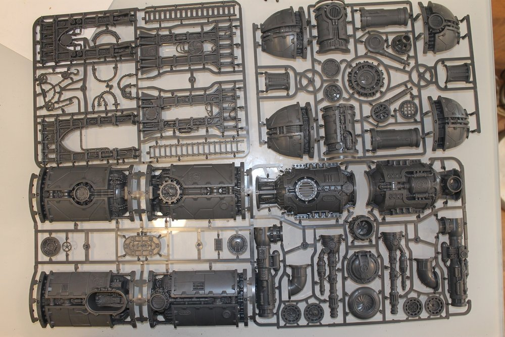 Shadow War Armageddon: Terrain (boiler)