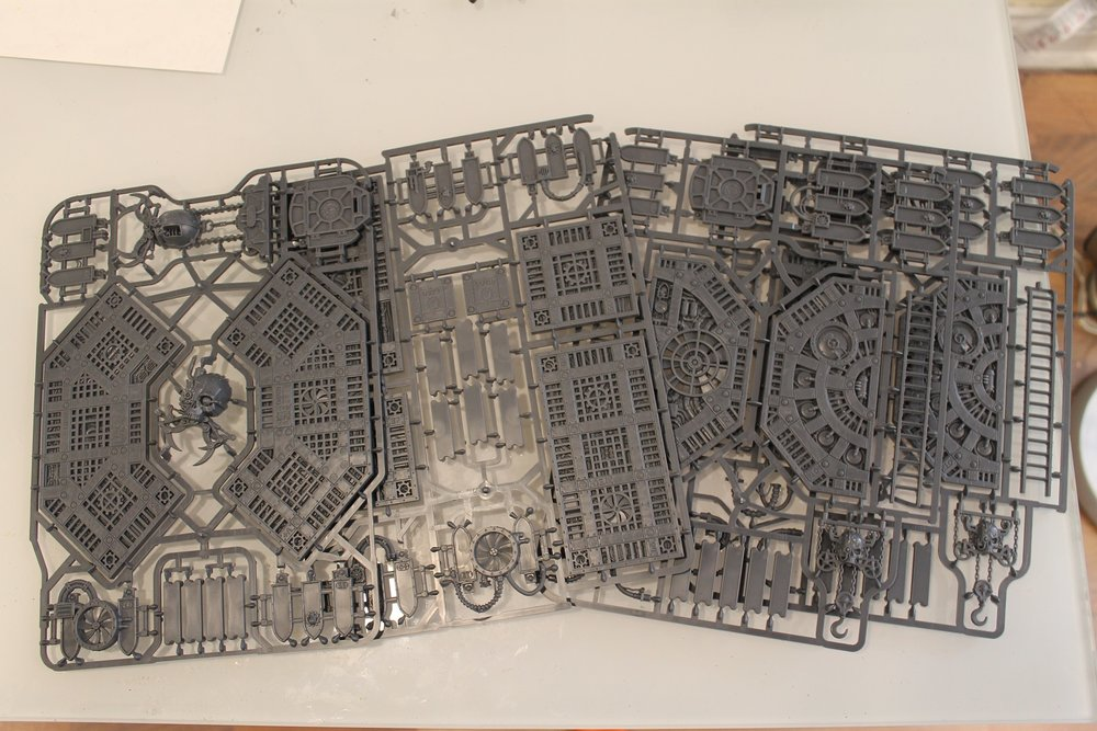 Shadow War Armageddon: Terrain (walkways)