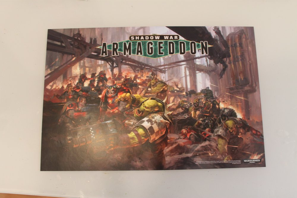 Shadow War Armageddon: Poster