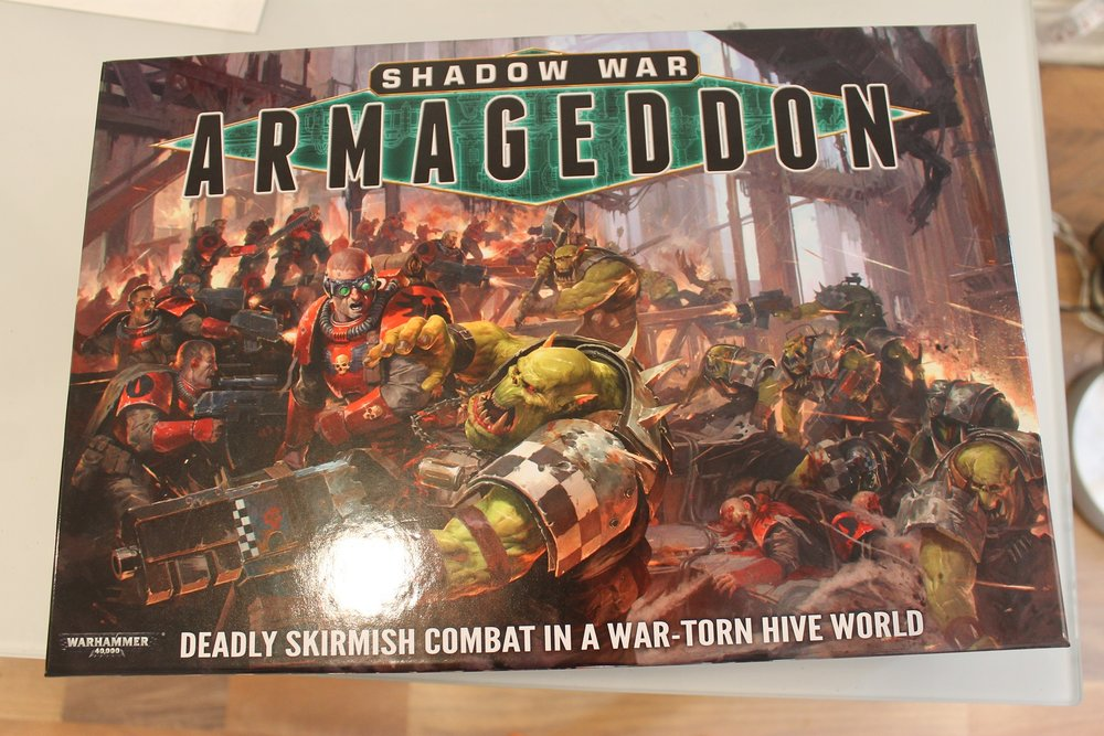 Shadow War Armageddon: Box