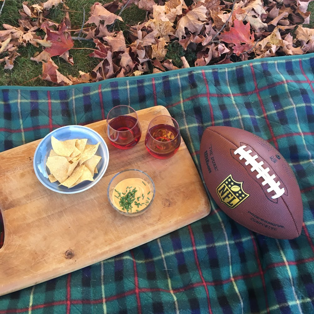 We brought our GOVINO glasses on a recent fall picnic.