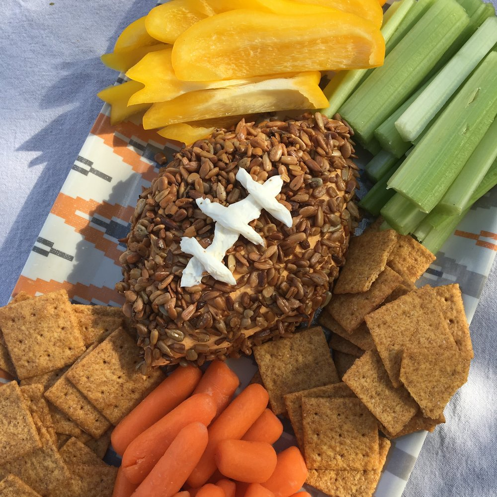 Subscribe to our em ail list and you will receive this month's code (in our next enewsletter) to download this recipe for a Game Day Cheeseball Dip.